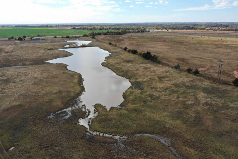 55 Acre Tract – Farmette – Pond – Enid OK