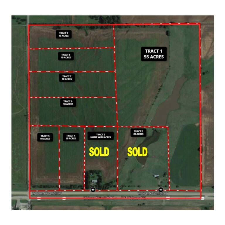 10 Acres Building Tracts Enid OK