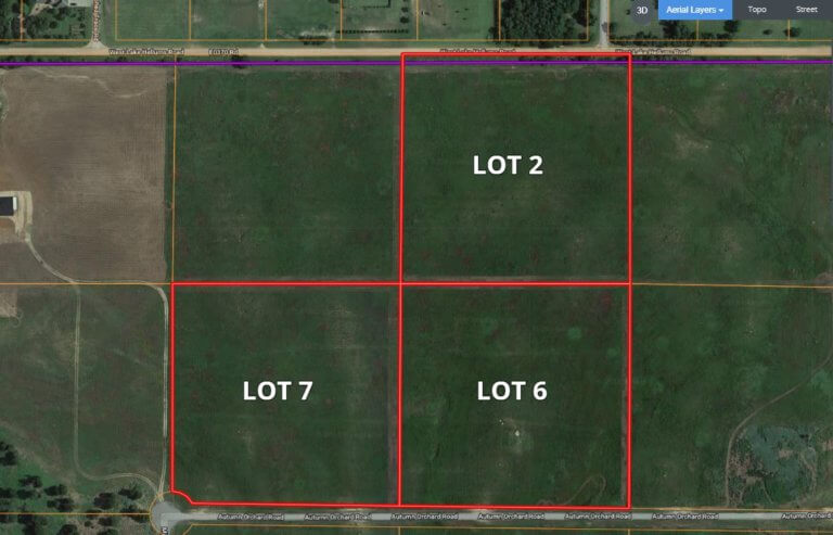 3-10 ACRE TRACTS CHISHOLM SCHOOL DISTRICT