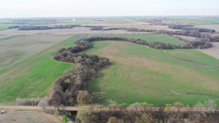 5/9 100± ACRES * CROPLAND * MINERALS * KAY CO, OKLAHOMA