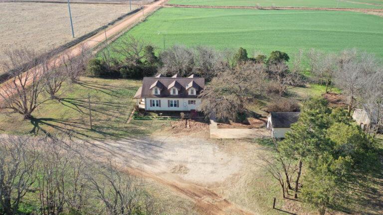 4/25 Home w/ 20± Acres & 140± Acres MOL – Pond – Crop – Grass – Fencing- Waukomis OK