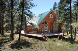 7/16 BEAUTIFUL LOG CABIN * 35 ACRES * LOVELAND COLORADO