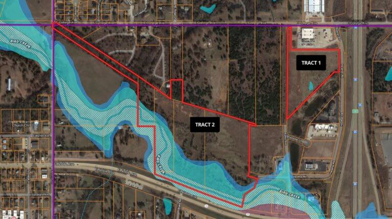 8/15 COMMERCIAL PROPERTIES * I-35 & HWY 33 FRONTAGE * GUTHRIE, OKLAHOMA