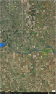 9/17 4,231± ACRES * LEFORCE LAND & LIVESTOCK, LLC * GRANT COUNTY, OK.