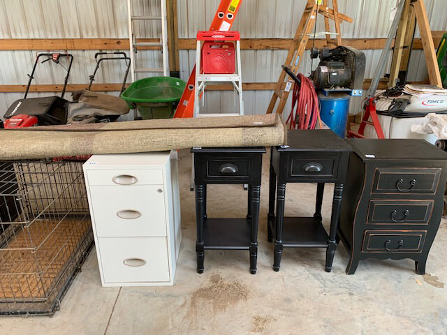8/24 Moving Sale/Auction Appliances – Furniture – Grand Father Clock – Patio Furniture