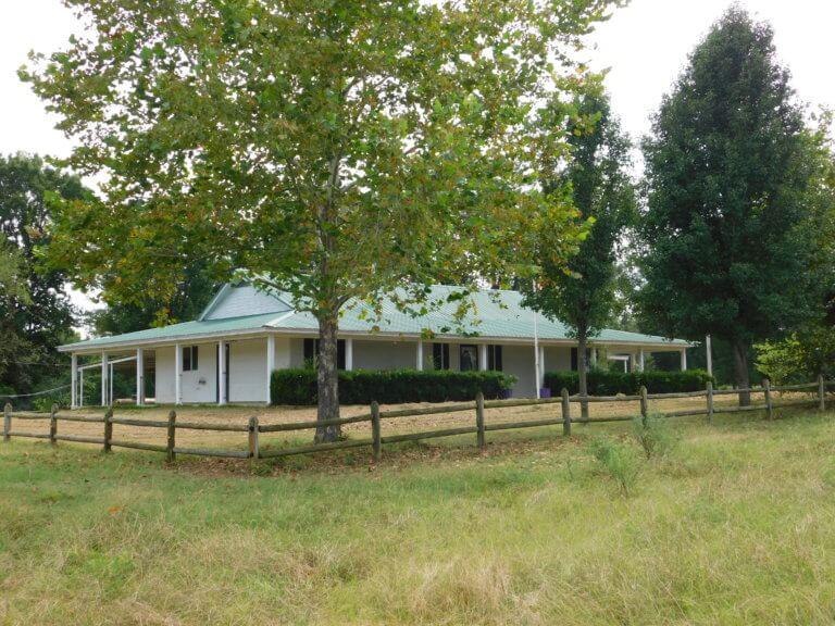 10/7  NICE RANCH STYLE HOME & 80 ACRES * GARVIN OKLAHOMA