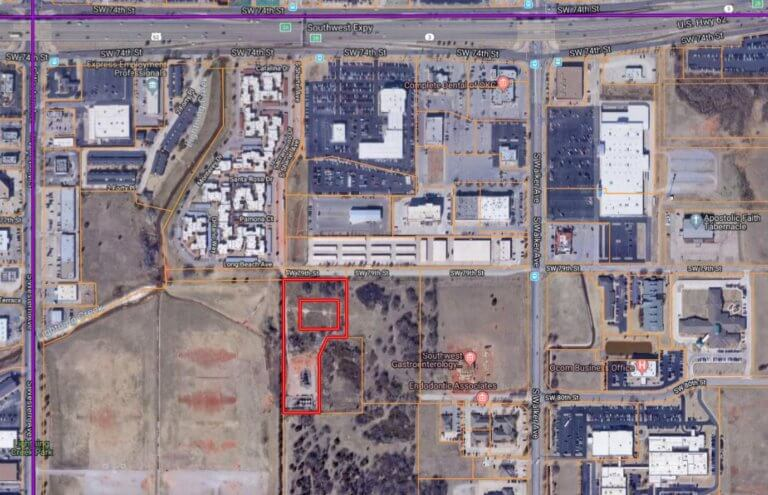 10/17 3.324± Acres Commercial Lot OKC Area